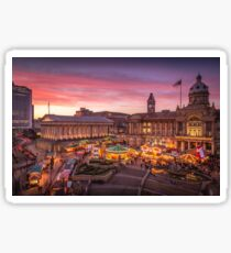 Christmas in Birmingham and the German Markets Sticker