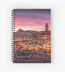 Christmas in Birmingham and the German Markets Spiral Notebook