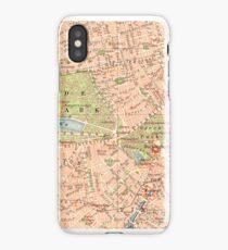 London Vintage Map iphone Case iPhone Case