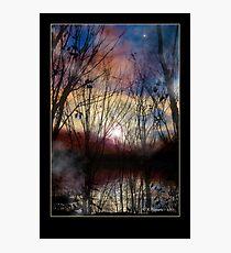 Fey Sunset Photographic Print
