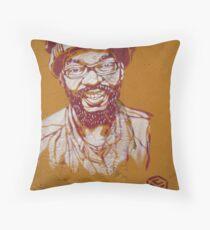 Rome - Rasta face stencil Throw Pillow
