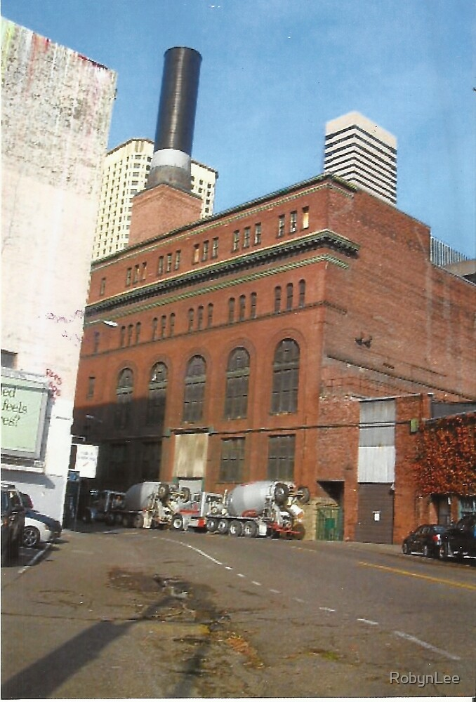 Factory Building,Seattle by RobynLee