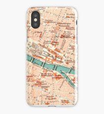 Paris Vintage Map iPhone Case iPhone Case