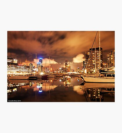 Melbourne Docklands Reflections Photographic Print