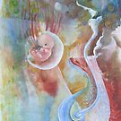 """""""Birthing""""  (Out of Darkness Light is born) by Claudia Dose"""