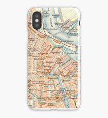 Amsterdam Vintage Map iPhone Case iPhone Case