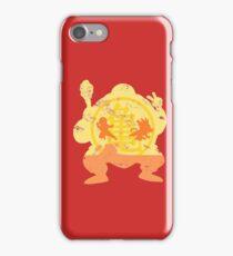 t shirt DBZ- Grunge- Training - Tortue génial  iPhone Case/Skin