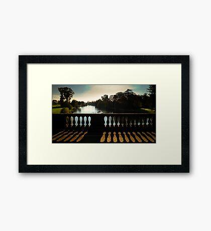 Bridging the Thames Framed Print