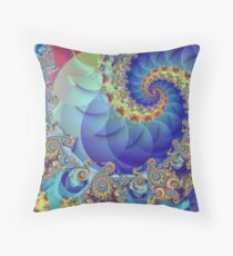 Spin Theory Throw Pillow