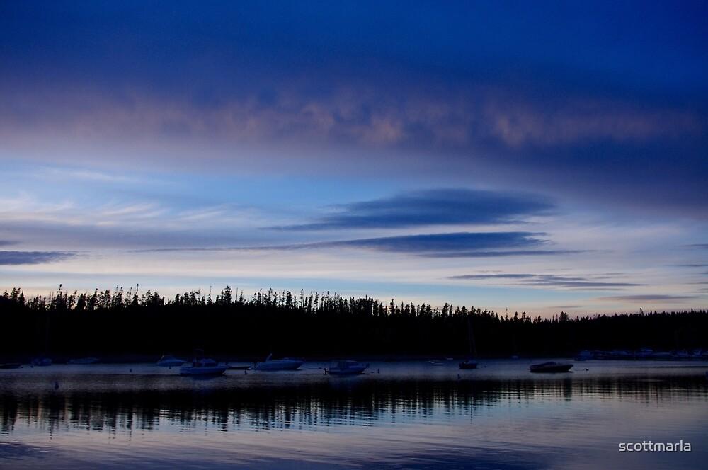Colter Bay - Grand Tetons by scottmarla