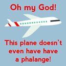 «¡Este avión ni siquiera tiene una falange!» de politedemon