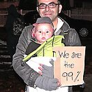protest baby by andytechie
