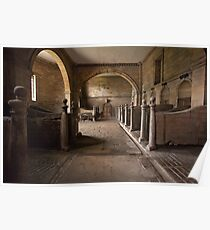 The Stable at Seaton Delaval Hall Poster