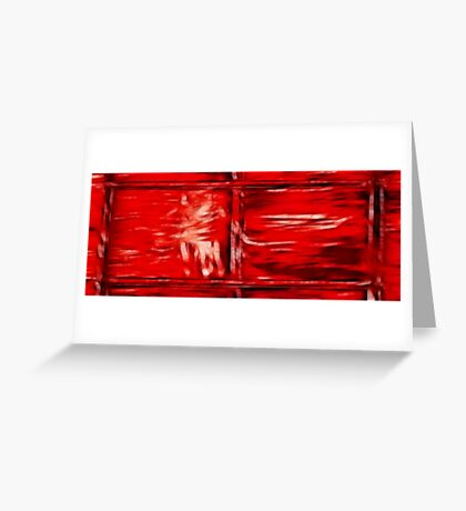 Simply Red Greeting Card