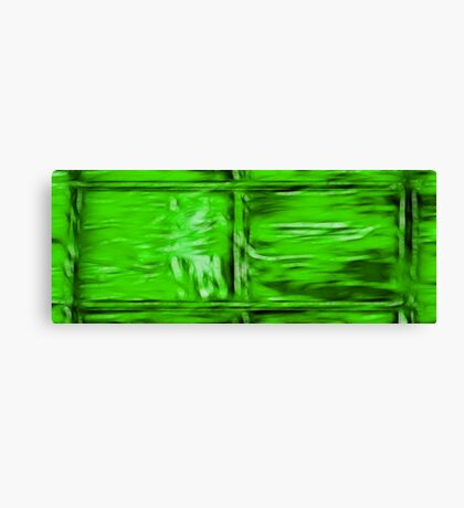 Simply Green Canvas Print