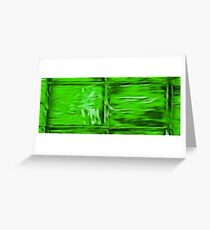 Simply Green Greeting Card