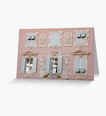 Architectural Art Greeting Card