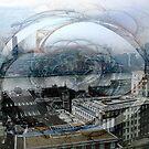 Swirling London Town by Benedikt Amrhein
