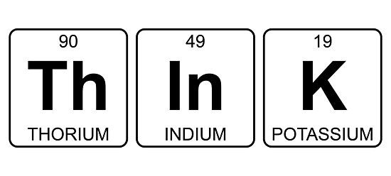 Th in k think periodic table chemistry photographic prints by th in k think periodic table chemistry by jenny zhang urtaz Choice Image