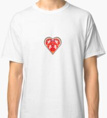 Folk heart 1 centre Classic T-Shirt