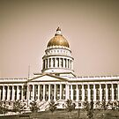 Utah State Capital by David Owens