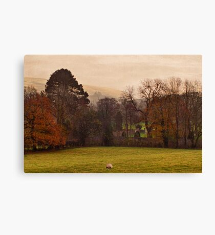 Mist Over Pendle Canvas Print