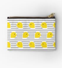 Row of chicks Studio Pouch