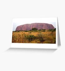Field at Uluru Greeting Card
