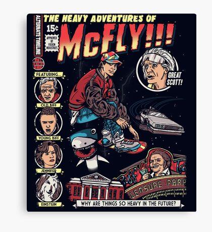 Heavy Adventures Canvas Print