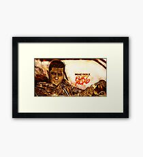 Mad Max : Fury Road Framed Print