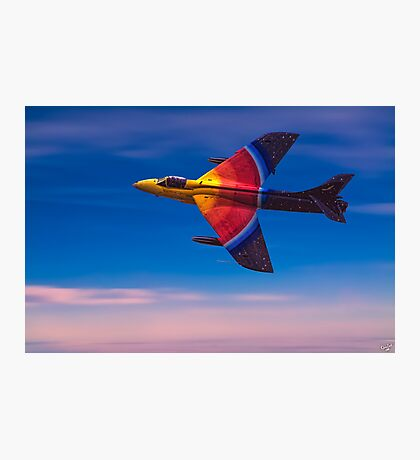 "Hawker Hunter F58 ""Miss Demeanour"" Photographic Print"