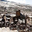 Old West Town by Angela E.L. Clements