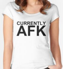 Currently AFK Women's Fitted Scoop T-Shirt