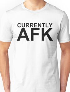 Currently AFK Unisex T-Shirt
