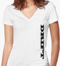 DRIFT Women's Fitted V-Neck T-Shirt