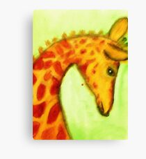 The most stately of animals, watercolor Canvas Print