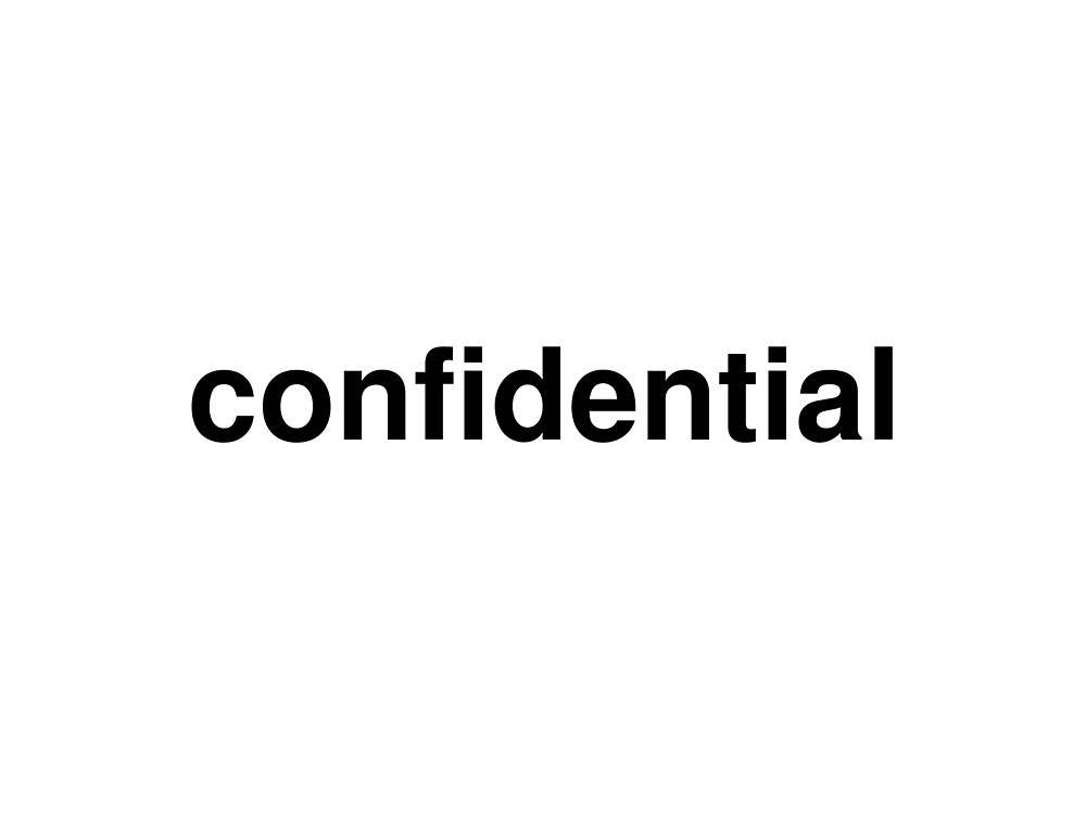 confidential by ninov94