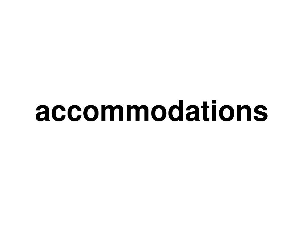 accommodations by ninov94