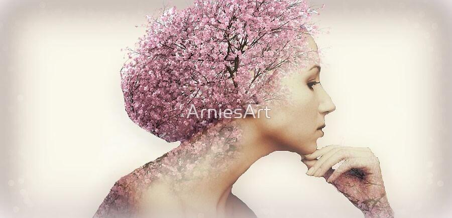 Blossom head by ArniesArt