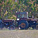 Tractors in retirement by Kim Austin