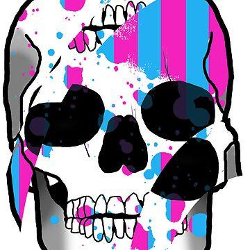 Color Skulls by halfurness