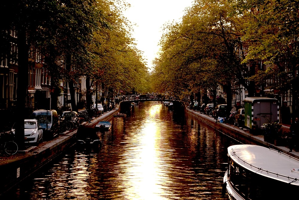 River in Amsterdam  by soulintrip
