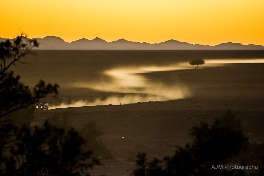 Desert Dust by AJM Photography