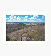 View of Charters Towers Art Print