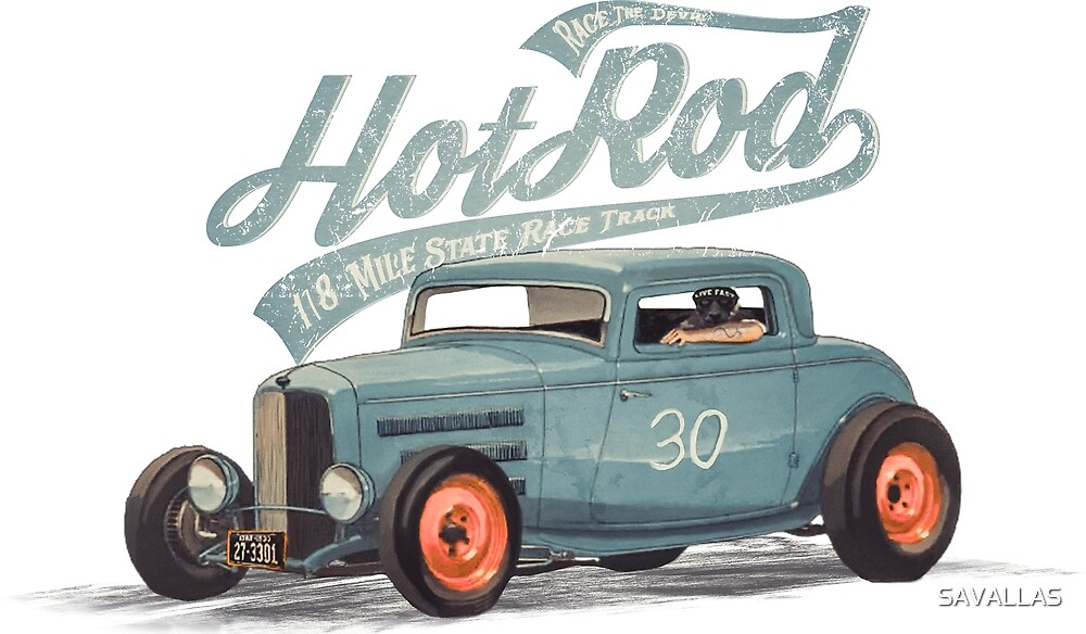 Hot Rod - Race The Devil von SAVALLAS