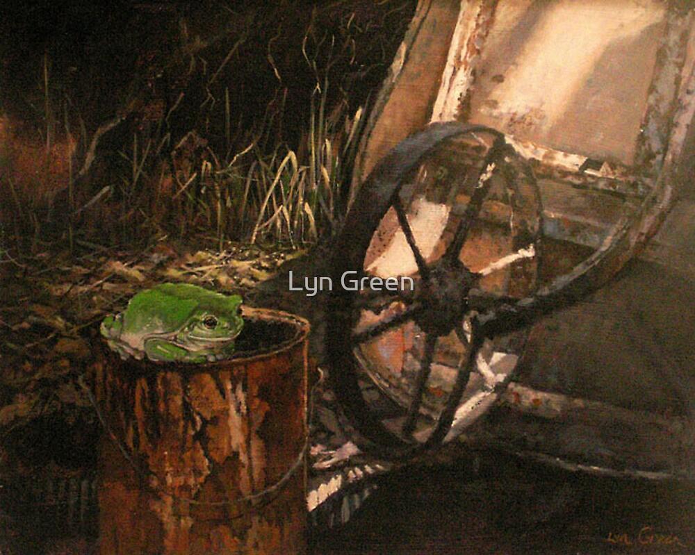 Suburban Frog by Lyn Green