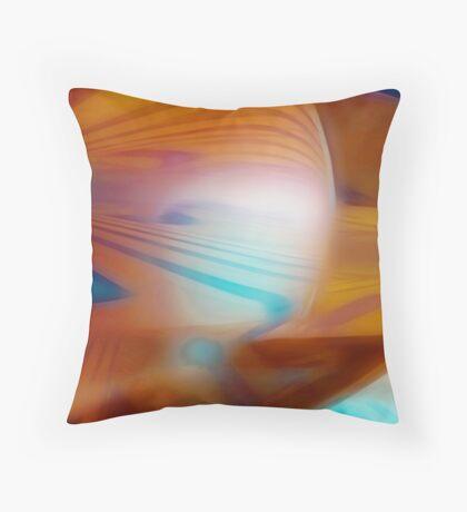 Agua Bendita Throw Pillow