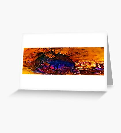 Collateral Damage Greeting Card