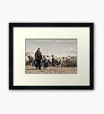 Annual Migration Framed Print