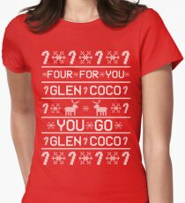 You Go Glen Coco! Women's Fitted T-Shirt